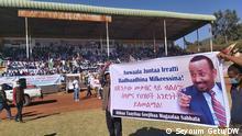 Äthiopien Parteianhänger Amhara Oromia Region