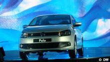 Präsentation eines neuen Models von VW-Polo in Moskau, 1 Juni 2010