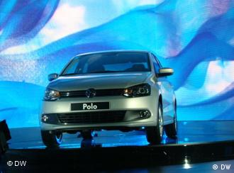 Презентация Polo седана в Москве
