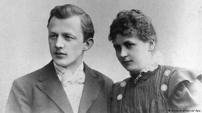 Мелитта Бенц с супругом