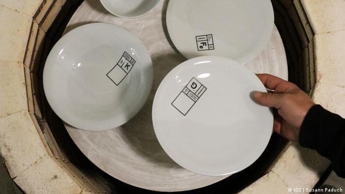 Тарелки с изъяном из Веймара