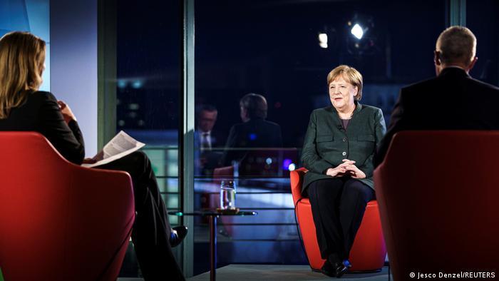 Angela Merkel o strategii rządu w koronakryzysie