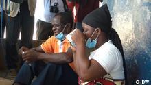 02.02.2021 Kampagne gegen Malaria beginnt in Pemba Mosambik Fotos zeigen Behörden und Zielpublikum der Kampagne