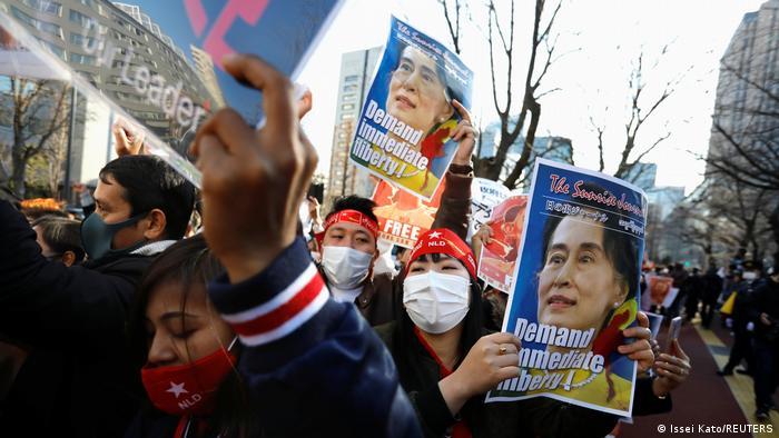 Warga Myanmar yang tinggal di Jepang