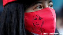 Japan Proteste vor Außenministerium in Tokio - Militärputsch in Myanmar