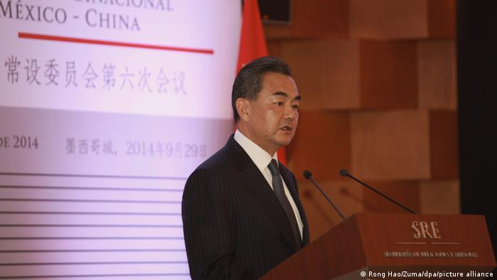 China Außenminister Wang Yi