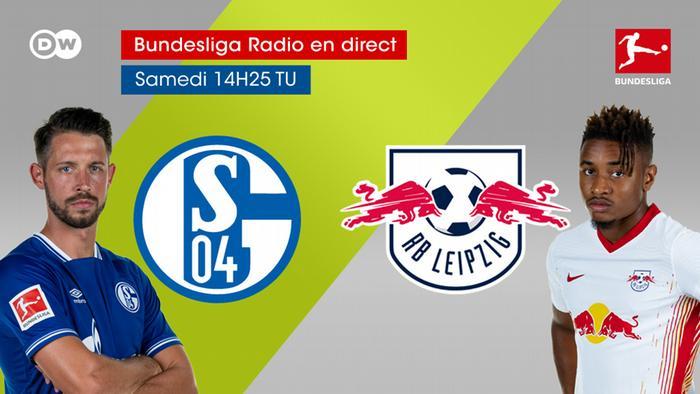 Bundesliga Spieltag 20 Schalke Leipzig Grafik DW französisch