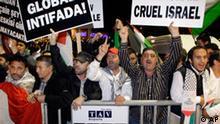 Türkei Empfang von Gaza Aktivisten