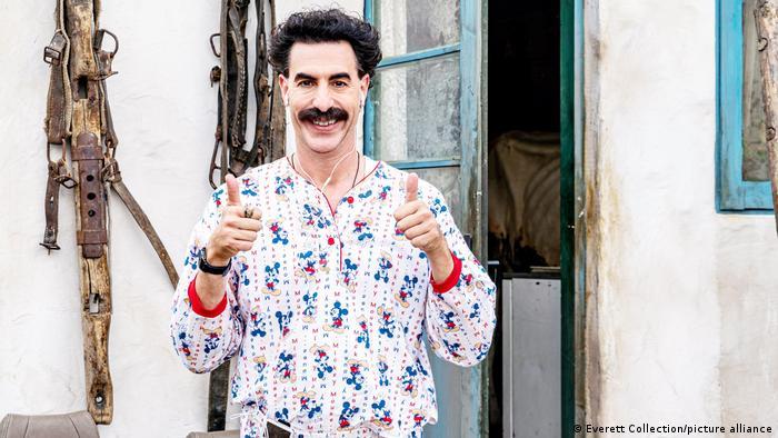 Sacha Baron Cohen Borat rolüyle Altın Küre kazandı