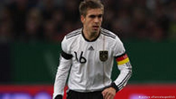 Philipp Lahm Kapitan deutsche Nationalmannschaft (picture alliance/augenklick)