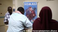 Somalia Krankenhaus Erdogan-Plakat