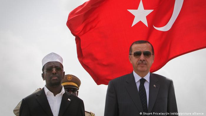 Somalia Türkei Premierminister Erdogan 2011