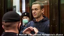 Russland Nach Nawalnys Urteil