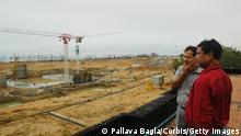Indien Kalpakkam PFBR Prototype Fast Breeder Reactor Baustelle