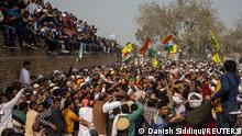 Indien Kandela Proteste Bauern