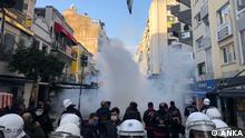 Türkei Protesten gegen die Einsetzung eines neuen Direktors an der Bogazici-Universität