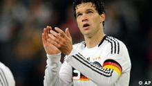 Michael Ballack Kapitan deutsche Nationalmannschaft 2008