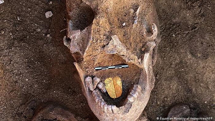 Mumien in der Nähe von Alexandria, Ägypten
