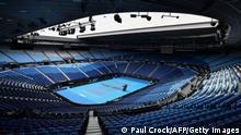 Australian Open Coronakrise Rod Laver Arena is seen in Melbourne