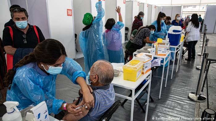 Chile Coronakrise Impfkampagne Sinovac