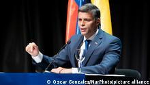 Spanien PK Leopoldo Lopez Opposition
