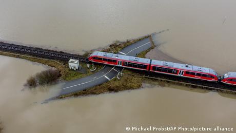 BdTD Deutschland Überschwemmung bei Frankfurt
