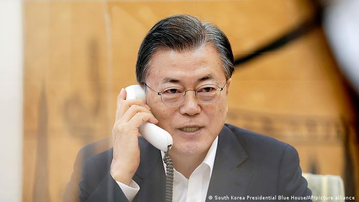 Südkorea Präsident Moon Jae-in