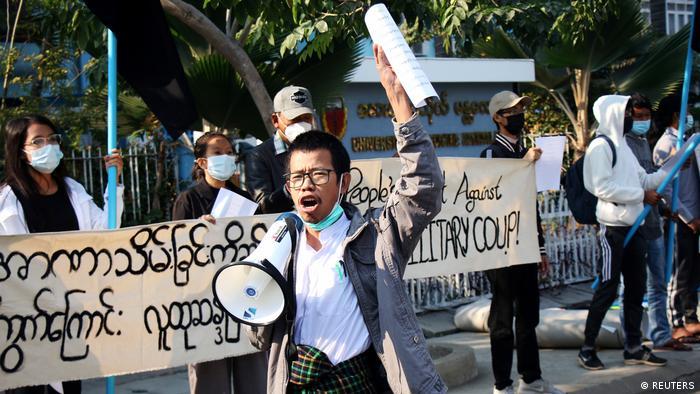 Weltspiegel 04.02.2021 | Myanmar, Protest nach Putsch
