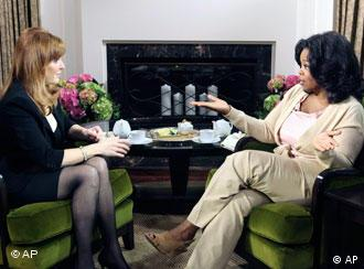 sarah ferguson talks to oprah winfrey