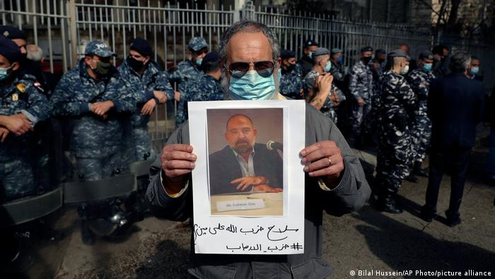 Libanon Mord Aktivist Lokman Slim