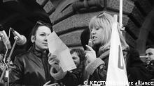 Schweiz Frauenstimmrecht Marsch auf Bern 1969