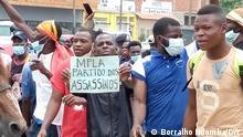 Angola Proteste in Luanda