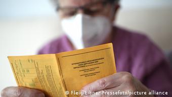 Γερμανία, πιστοποιητικό εμβολιασμού