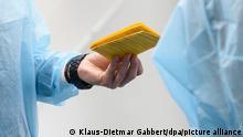 Deutschland Corona-Pandemie | Impfpass