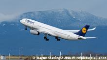 Kanada Vancouver Lufthansa A 330-300 beim Start