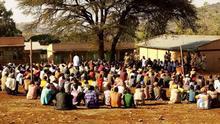 ***ACHTUNG: Bild nur zur mit dem Rechteinhaber abgesprochenen Berichterstattung verwenden!*** via Mantegaftot Sileshi Äthiopien Heimkehrer aus Konso. Konso returnees in the Souther nation nationalities region, Ethiopia, 03.02.2021 Rights: Konso communication government affairs