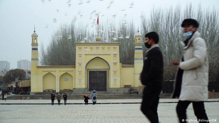China Still Straßenszene in Kaxgar