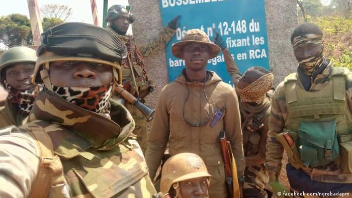 Soldaten der Zentralafrikanischen Republik (Archivbild)