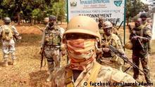 Zentralafrikanische Republik Soldaten in Bossambelé