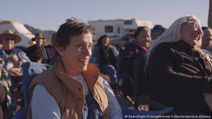 McDormand in a still from Nomadland.