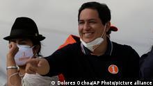 Ecuador Wahlkampf Präsidentschaftswahl | Andres Arauz