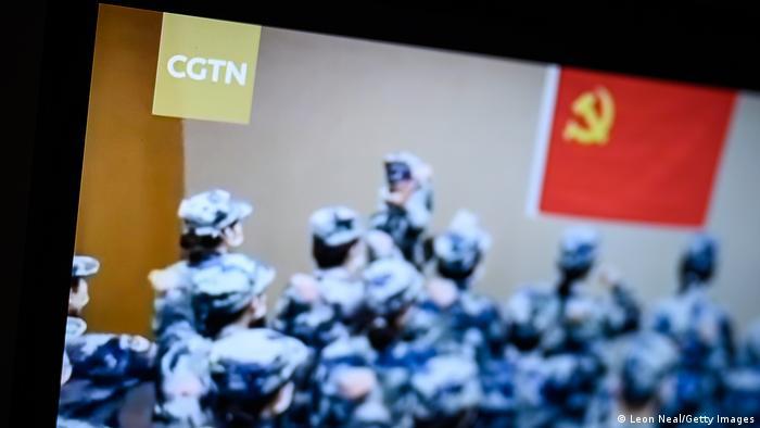 China CGTN TV Sender