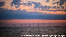 Symbolbild Windkraft offshore Dänemark