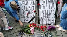 Russland Art und Protestbewegung in Chabarowsk