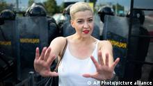 Weißrussland | Opposition | Maria Kolesnikova