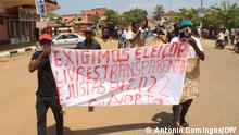 Proteste in Angola | Kwanza Norte