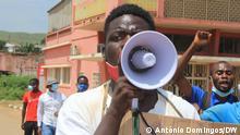 Proteste in Angola Fotograf: António Domingos/DW Thema: Proteste, Angola, Kwanza Norte