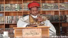 Kano Islamische-Kleriker Kontroverse Fotograf: Aliyu Samba. Datum: 04.02.2021 Die Regierung des Bundesstaates Kano verbietet dem islamischen Kleriker Dr. Abduljabbar Nasiru Kabara das Predigen.