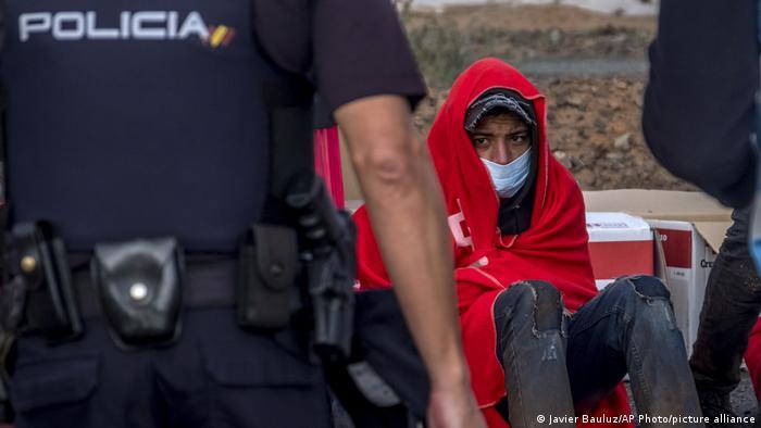Spanien Migranten auf Gran Canaria