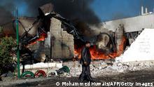 Jemen Sanaa Luftangriff Saudi-Koalition